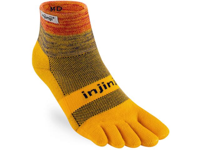 Injinji Trail Mini-Crew Xtralife Chaussettes, marigold